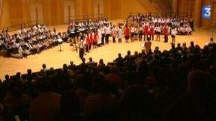 """""""Festin vocal"""", les jeunes choristes du conservatoire de Metz en concert  (Culturebox)"""