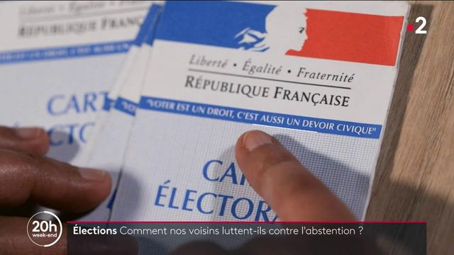 Élections : comment les autres pays luttent-ils contre l'abstention ?