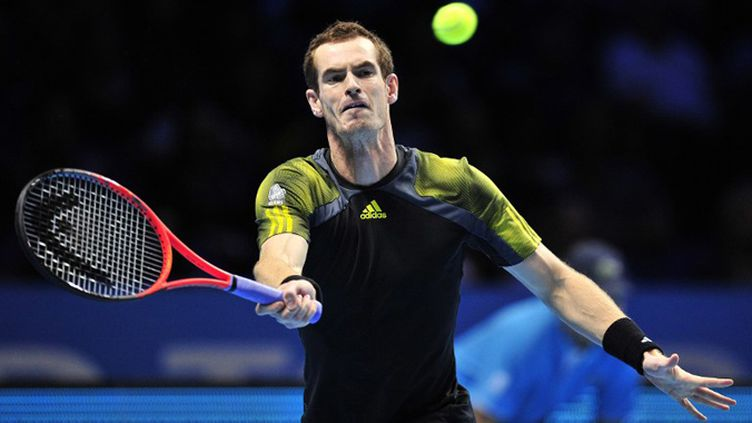 Andy Murray dans son jardin (GLYN KIRK / AFP)