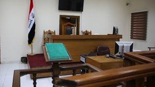 Le tribunal de Bagdad, en Irak, le 29 mai 2019. (SABAH ARAR / AFP)
