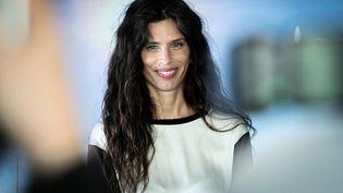 La réalisatrice et actrice française Maïwenn présente son film ADN au festival du film de Deauville, le 12 septembre 2020. (LOU BENOIST / AFP)