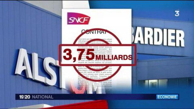 RER : Alstom et Bombardier décrochent un contrat record