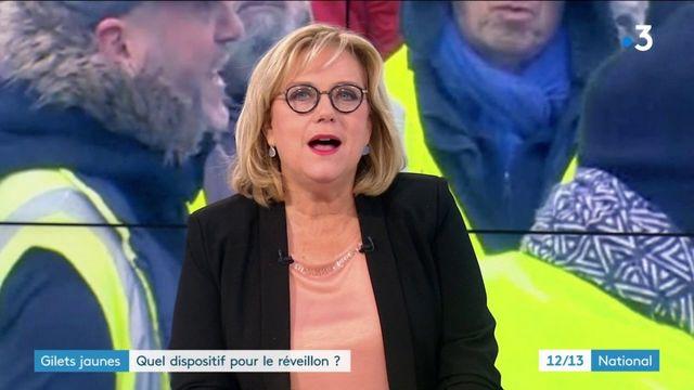 """""""Gilets jaunes"""" : quel dispositif pour le réveillon sur les Champs-Elysées ?"""