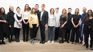 Les 12 créateurs en lice au Festival international des jeunes créateurs de mode de Dinan, mars 2018  (Studio Fradet)