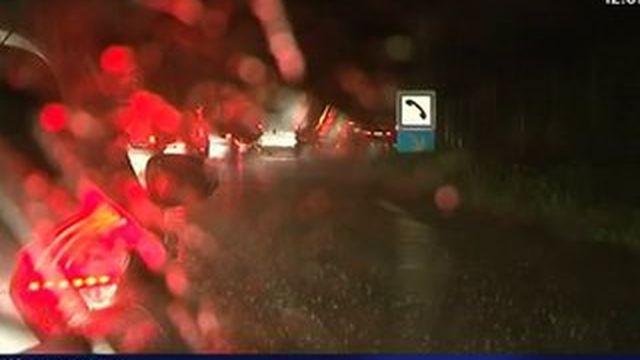 Hérault : des dizaines d'automobilistes bloqués