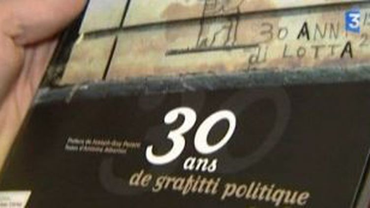 Pierre Murati, 30 ans de graffiti politique en photos  (Culturebox)