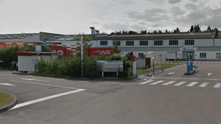 L'usine Soprema de Saint-Julien-du-Sault (Yonne), en juillet 2016. (GOOGLE)
