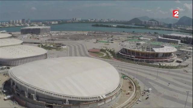 JO : Rio se prépare à l'ouverture