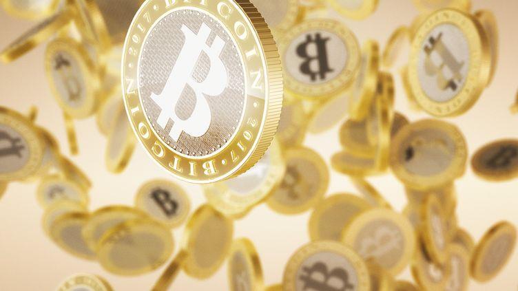 Le cours du bitcoin est tombé sous la barre des 15 000 dollars, vendredi 22 décembre 2017. (MARK GARLICK/SCIENCE PHOTO LIBRA / MGA)
