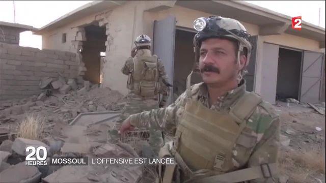 Mossoul : l'offensive est lancée mais l'opposition de Daech s'abat sur les soldats