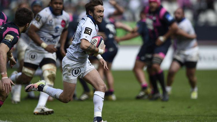 Le joueur de Montpellier Benoit Paillauge