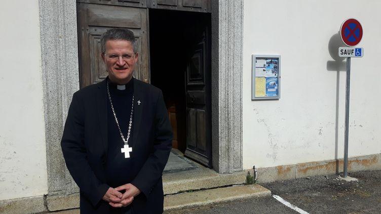 Xavier Malle, évêque de Gap et d'Embrun. (SEBASTIEN BAER / RADIO FRANCE)