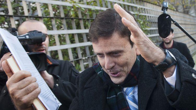 Eufemiano Fuentes lors du procès de l'affaire Puerto