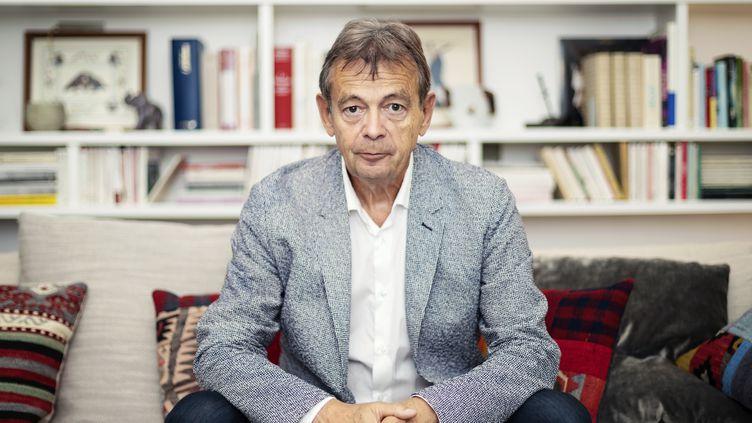 Portrait de l''écrivain Pierre Lemaitre, juillet 2019 (PHOTOGRAPHER: SAMUEL KIRSZENBAUM)