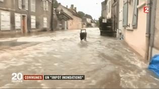 La taxe Gemapi va voir le jour en 2018. Elle sera applicable dans les communes exposées au risque d'inondations. (FRANCE 2)