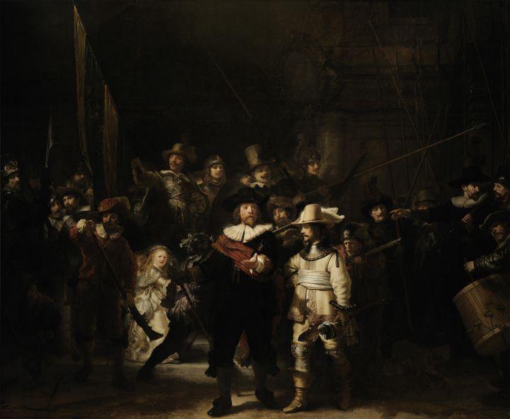 """La Ronde de Nuit"" / Rembrandt  (Rijksmuseum Amsterdam)"