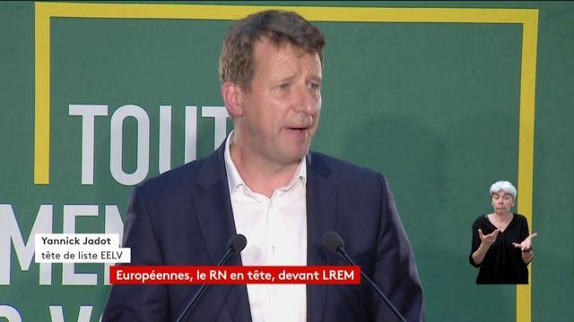 """Yannick Jadot : """"il n'est pas exclu ce soir que l'écologie soit la première force politique chez les jeunes"""""""