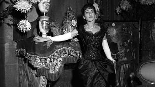 """Maria Callas dans """"La Traviata"""".  (Teatro alla Scala)"""