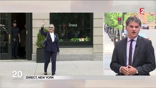 Commémorations du 11 septembre : Hillary Clinton victime d'un malaise