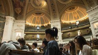 Sorbonne Université, à Paris, est36e de l'édition 2018 du classement de Shanghai. C'est la première université française du classement. (SOEREN STACHE / DPA)