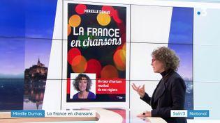 Mireille Dumas et son livre (France 3)
