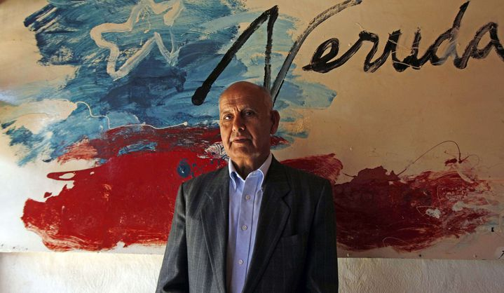 Manuel Araya, l'assistant et chauffeur de Pablo Neruda, à Isla negra le 7 avril 2013  (Luis Hidalgo / AP Photo / Sipa)