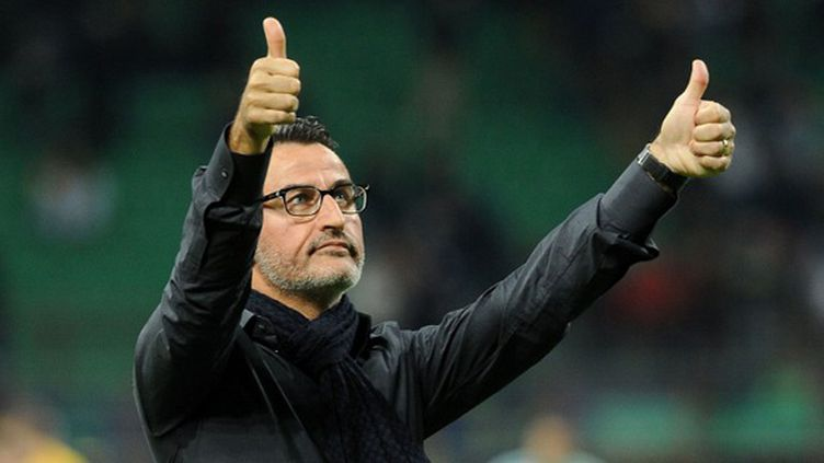 Christophe Galtier, le coach de l'ASSE. (MASSIMO CEBRELLI / MASSIMO CEBRELLI)