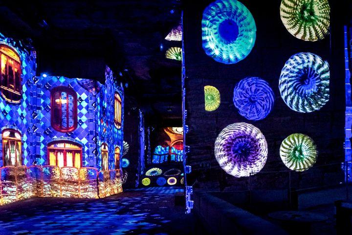 Les célèbres façades de Gaudi (Culturespaces / E. Spiller)