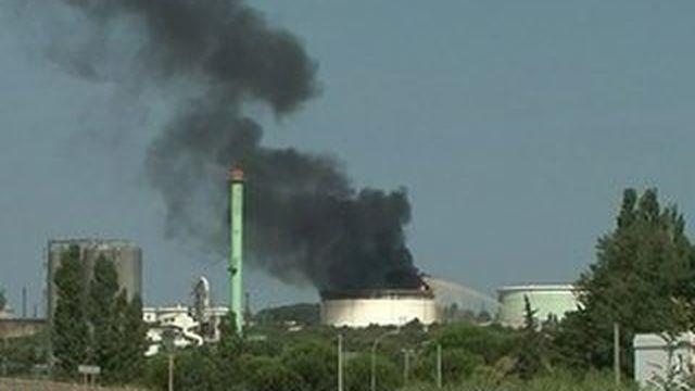 Berre-L'Etang : double explosion sur un site classé Seveso