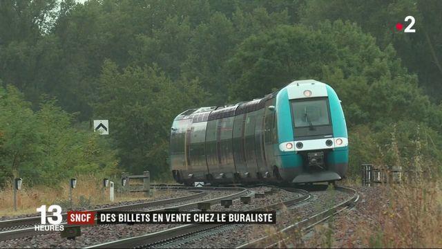 SNCF : des billets en vente chez les buralistes