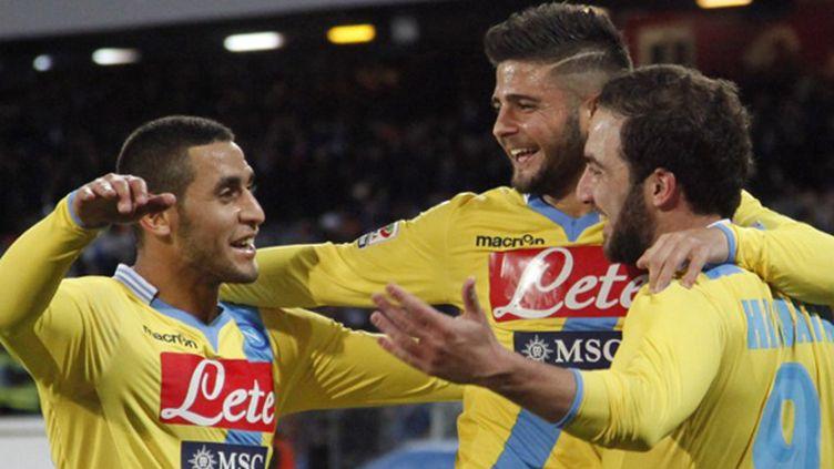 La joie des Napolitains (CARLO HERMANN / AFP)