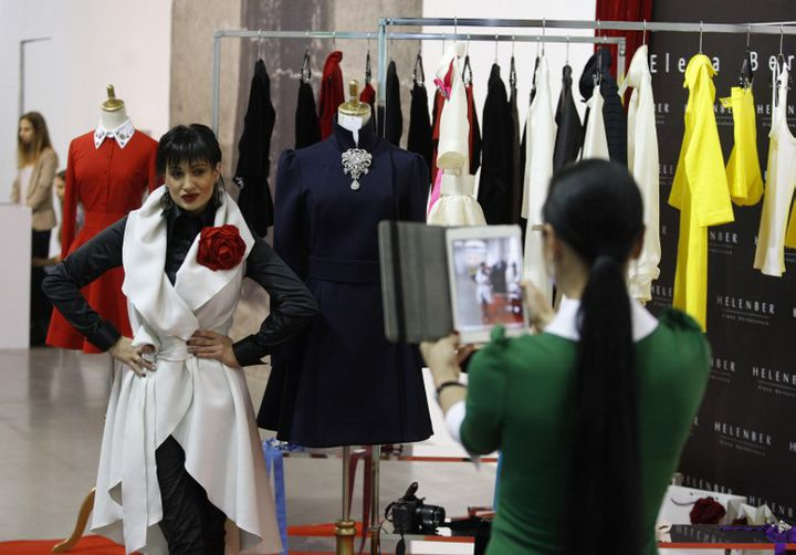 Semaine de la mode en Ukraine (mars 2014).  (YURY KIRNICHNY)