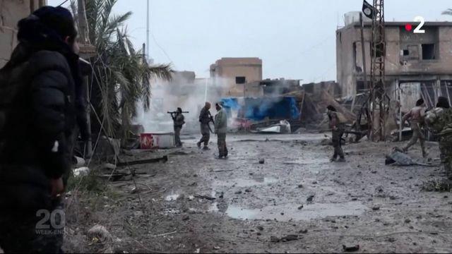 """VIDEO. Syrie : le groupe Etat islamique """"est en retrait militairement, mais l'idéologie est intacte"""""""