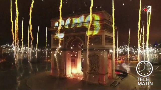 Nouvel An 2019 : la fête sur les Champs-Élysées