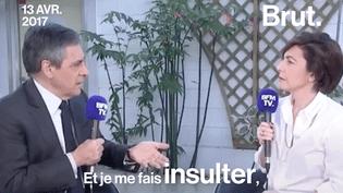 """Ces dernières semaines François Fillon s'est dit à plusieurs reprises """"insulté"""" par ses adversaires politiques.   (Brut)"""