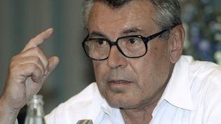 Le réalisateur américano-tchèque Milos Forman en juin 1997.  (Michele Limina/EPA/Newscom/MaxPPP)