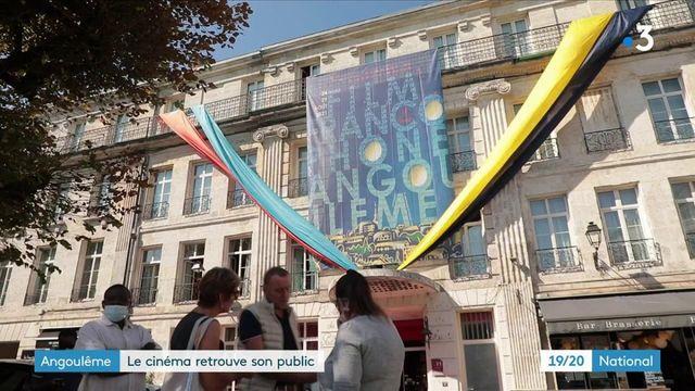 Depuis son ouverture ce mardi 24 aout, le festival d'Angoulême accueille de nombreux acteurs et un public à qui les salles de cinéma ont manqué.