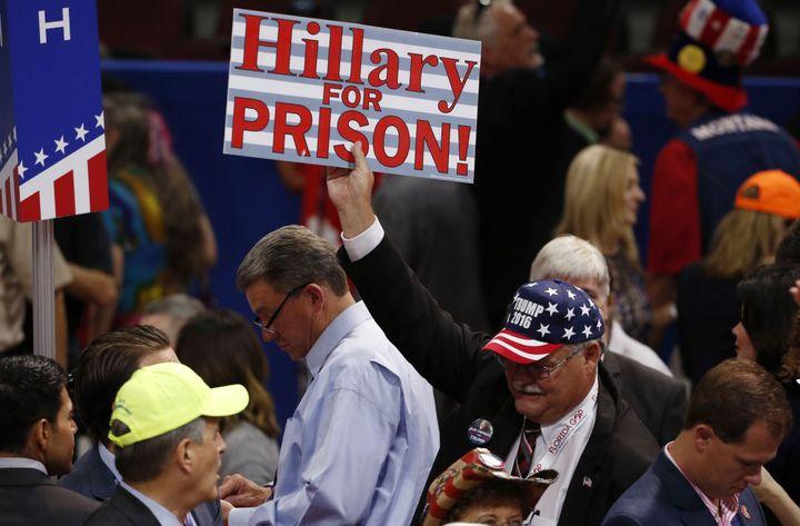Partisan de Donald Trump lors de la convention républicaine de Cleveland. (18 juillet 2016) (Reuters/ Mario Anzuoni)