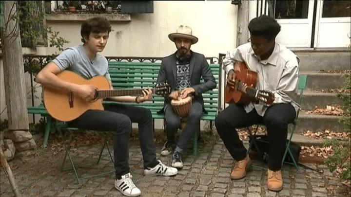 Guetteurs ont la particularité de jouer du reggae chrétien.  (France 3 / Culturebox)