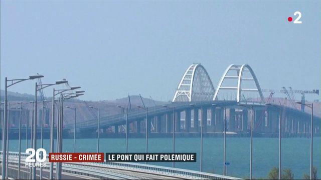 Crimée : un pont symbole de l'annexion par la Russie