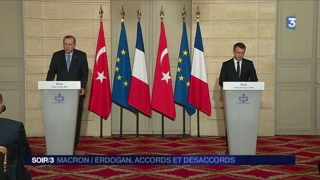 Macron – Erdogan : le désaccord sur les droits de l'Homme persiste