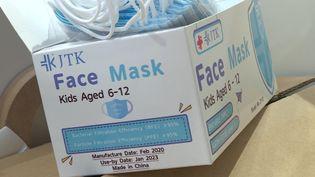 La ruée sur les masques pour enfants (L.Velay / France Télévisions)