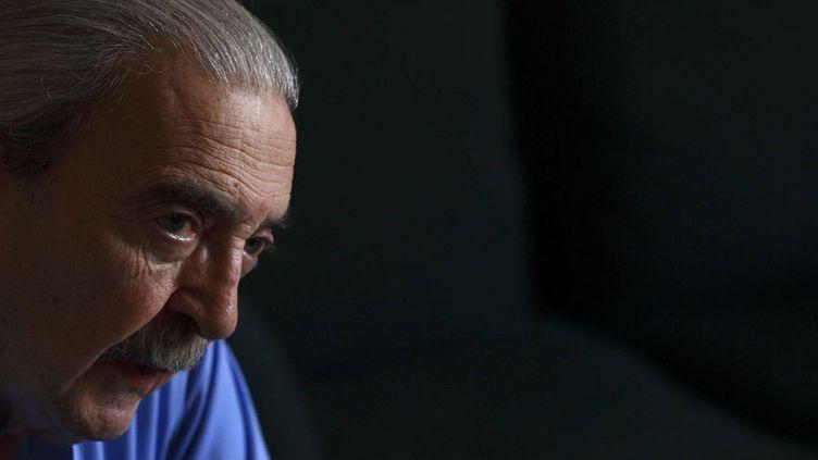 Juan Gelman en février 2008 à Mexico  (Gregory Bull / AP / SIPA)