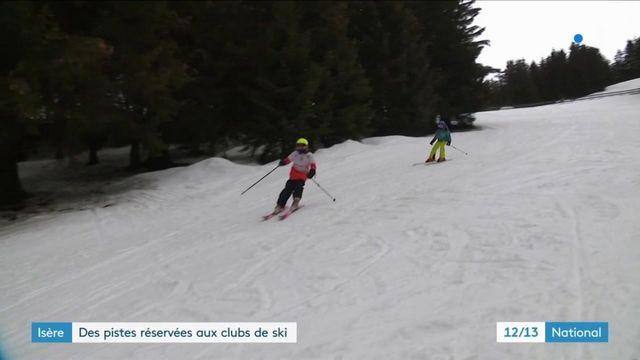 Isère : des enfants autorisés à skier