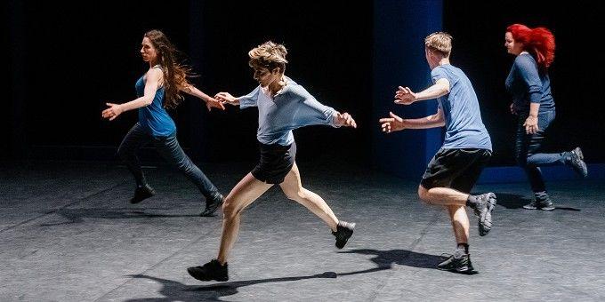 """""""Auguri"""" d'Olivier Dubois présenté au TNP de Villeurbanne dans le cadre de la Biennale de la danse  (Markus Scholz/DPA Picture alliance / MAXPPP )"""