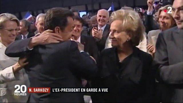 Nicolas Sarkozy : l'ex-président en garde à vue