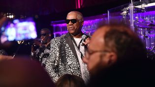Ronald Bell, de Kool & The Gang, Bal de la Fondation Gabrielle Angel pour la recherche contre le cancer, 23 Oct 2017, New York (STEPHEN LOVEKIN/SHUTTER/SIPA / REX)
