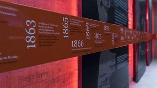 Le Mémorial de l'abolition de l'esclavage à Nantes attire environ 225 000 visiteurs par an. (MAXPPP)