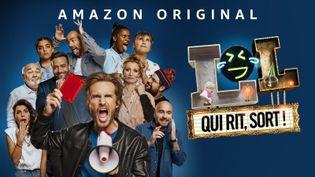 """""""LOL : Qui rit, sort !"""" réunit Philippe Lacheau et 10 comiques dans une téléréalité dévoilée le 23 avril. (AMAZON PRIME VIDEO)"""