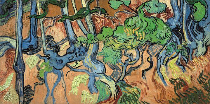 Le dernier tableau de Van Gogh, Racines. Auvers-sur-Oise, 27 juillet 2020. Musée Van Gogh, Amsterdam. (Fondation Vincent van Gogh)